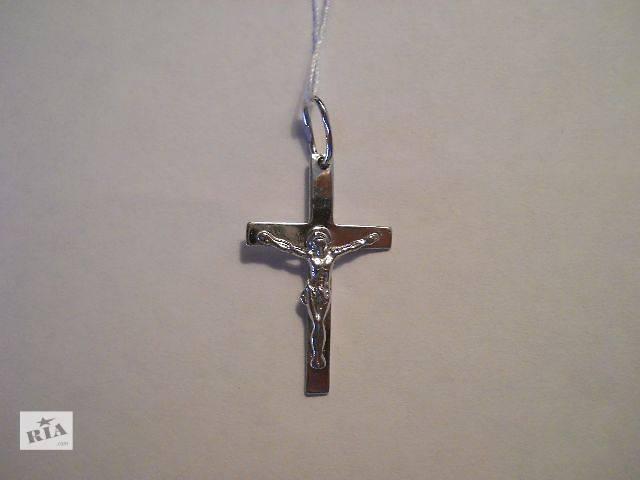 купить бу Серебрянный крестик (1,47 гр. серебро 925 пробы) в Киеве