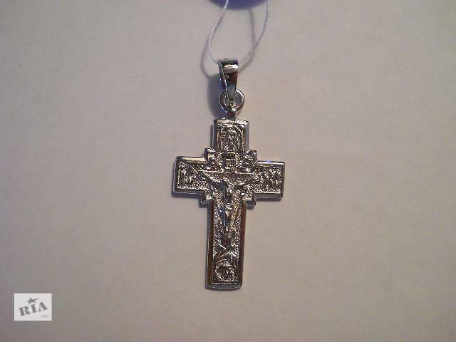 бу Серебрянный крестик (5,5 гр. серебро 925 пробы) в Киеве