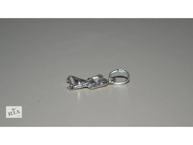 Серебряное кулон Дева неродированое серебро- объявление о продаже  в Маневичах