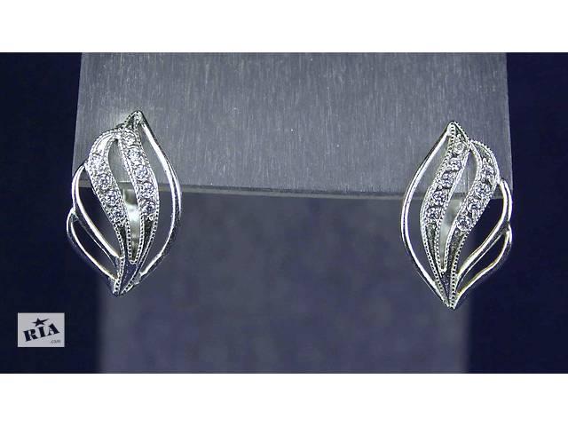 продам Серьги серебро 925 пробы АРТ381 бу в Запорожье