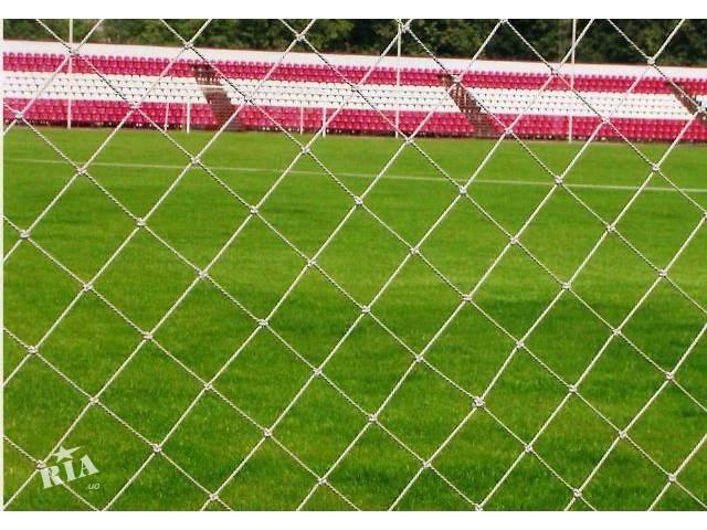 продам Сетное полотно, сетки оградительные разделительные для спортплощадок, спортивных залов, спортбаз бу в Киеве