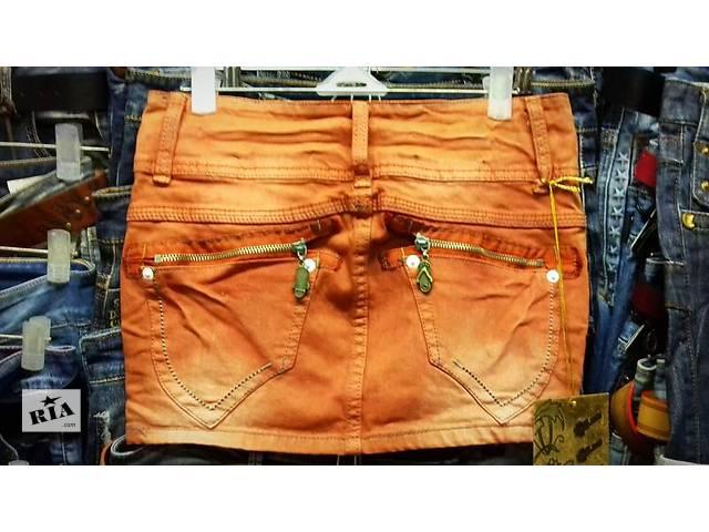 бу Стильная котоновая юбка в Покровске (Красноармейске)