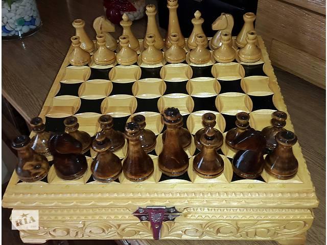 купить бу Шахматы ручной работы  в Львове