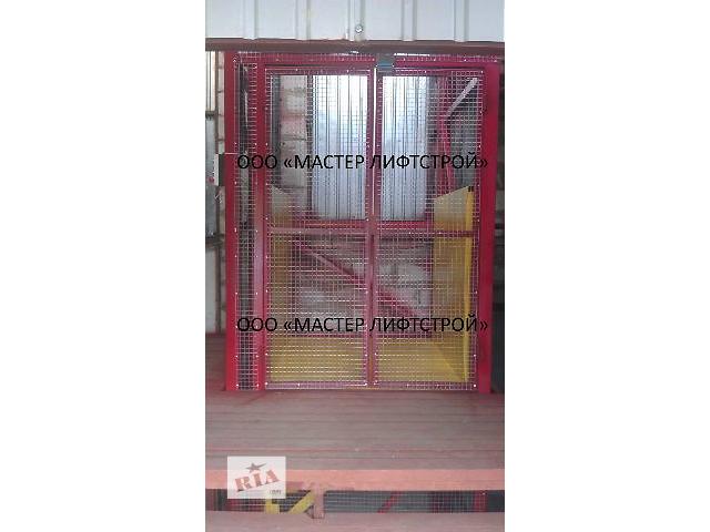 купить бу Шахтный подъемник, электрический подъемник, подъемники грузовые нестандартной конструкции  в Украине