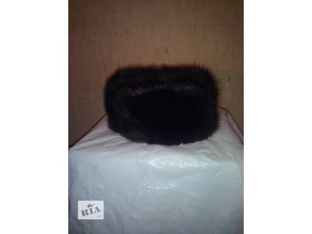 продам Шапка-ушанка меховая из пыжика, размер 58 бу в Киеве