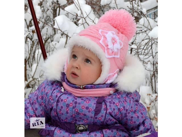 шапка и шарф зимние для девочки- объявление о продаже  в Николаеве (Львовской обл.)