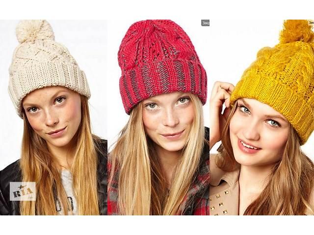 Модная вязаная шапка 2014 2015 своими руками