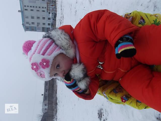 бу Шапочка зимняя для девочки в Николаеве