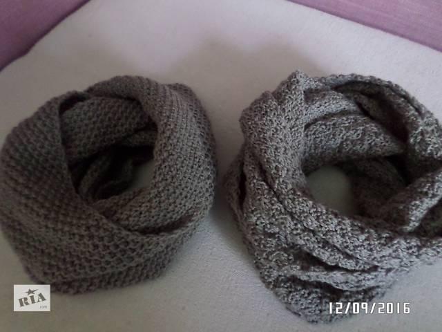 продам шарфики-снуды Handmake по низкой цене бу в Николаеве (Львовской обл.)