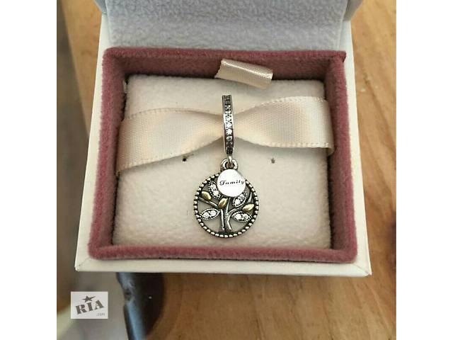 купить бу Шарм бусина Пандора  Pandora семейное дерево серебро 925 в Николаеве