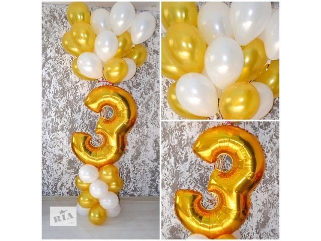 продам Шары надутые гелием! Украшение воздушными шарами праздника в Борисполе! бу в Киевской области