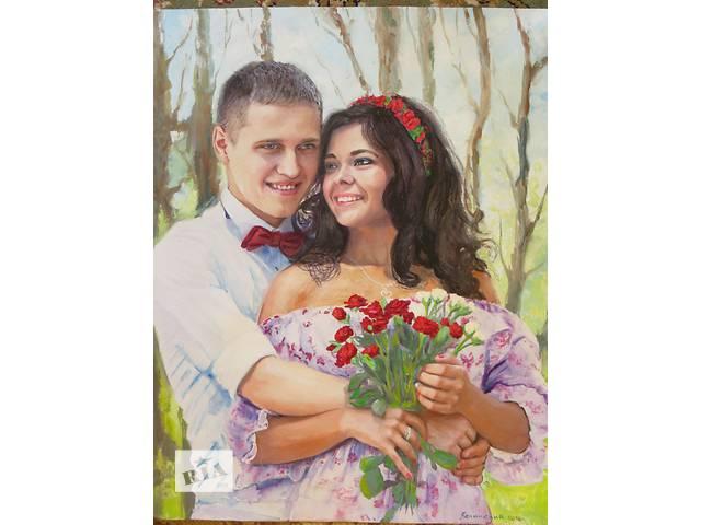 продам шарж портрет бу  в Украине
