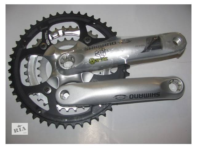 купить бу Шатун Shimano FC-M470 MTB Octalink Hollowtech 48-36-26T 175mm в Владимир-Волынском