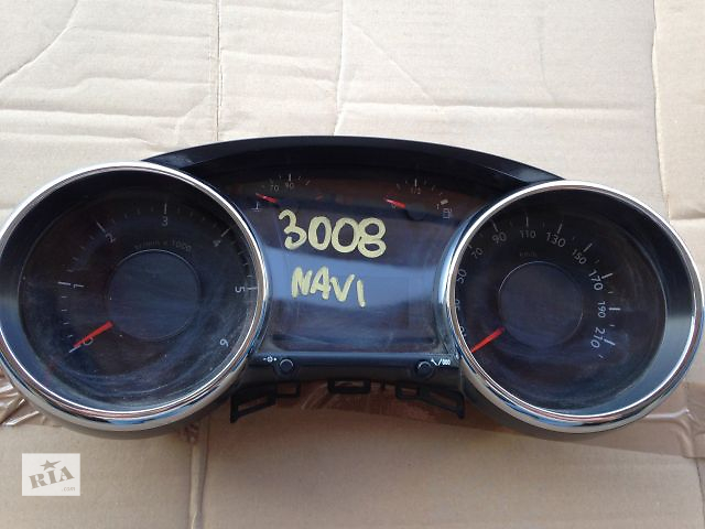бу Щиток приборов Peugeot 3008 / Пежо 3008 ( подушки безопасности, торпедо, бампер, крылья, капот, четверть) в Львове