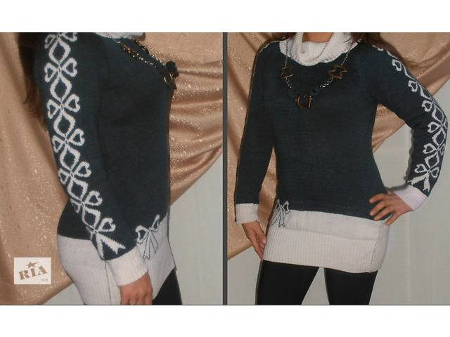 Шерстяной свитер,кофта,туника- объявление о продаже  в Мирнограде (Димитрове)