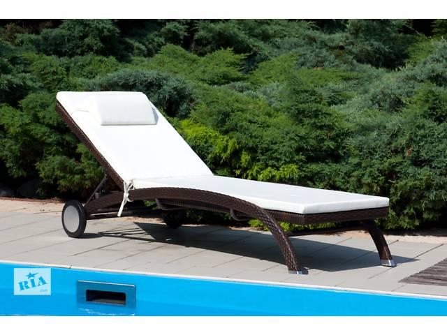 бу Шезлонг, лежак Луна, мебель для бассейна, мебель для сауны, мебель для веранды, садовая мебель, пляжная мебель в Киеве