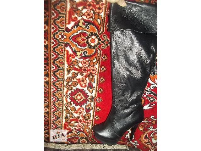 продам шири женские ботфорты новые бу в Львове