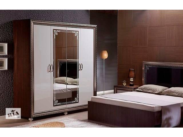 бу Шкаф 4-дверный Embawood Элизабет (белый) |AM5987 в Киеве
