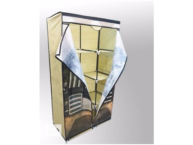 Шкаф гардероб тканевый