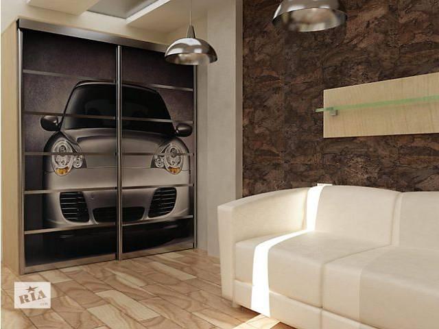 купить бу Шкаф-купе 1400 х 600 х 2400-яркое дополнение к Вашему интерьеру. в Кривом Роге