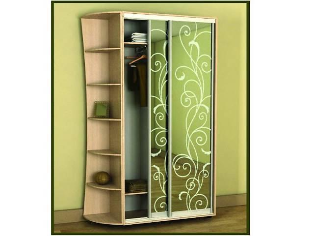 Шкаф-купе 2-х дверный : мебель для гардеробной в донецке - м.