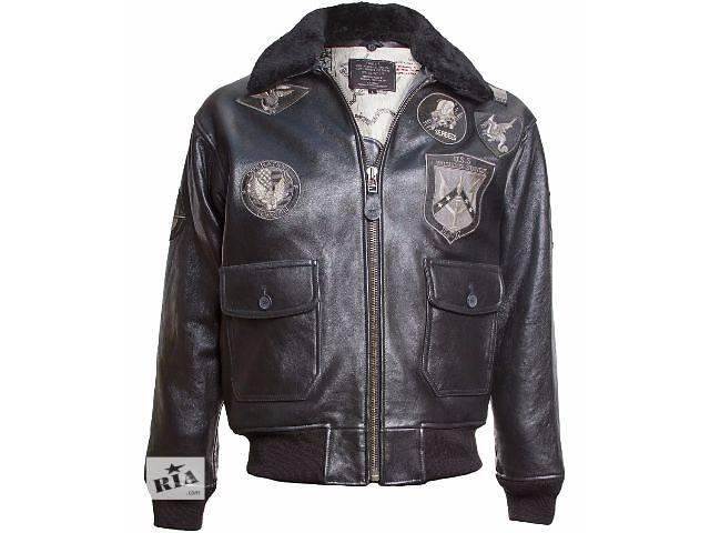 Кожаная куртка Top Gun, США- объявление о продаже  в Львове