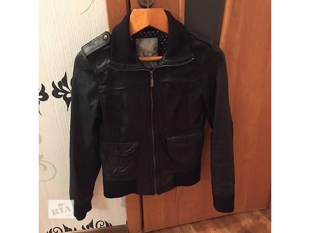 Кожаная куртка- объявление о продаже  в Чорткове