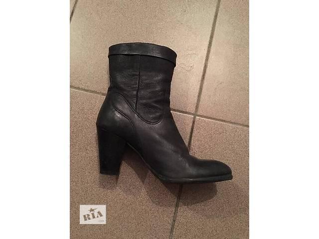 Кожаные ботинки ОСЕНЬ ВЕСНА- объявление о продаже  в Ровно
