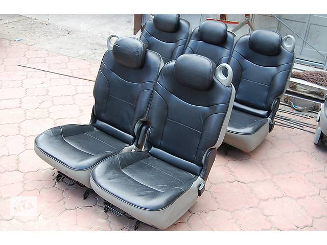 купить бу Кожаные сидения трансформеры Renault Scenic в Любомле
