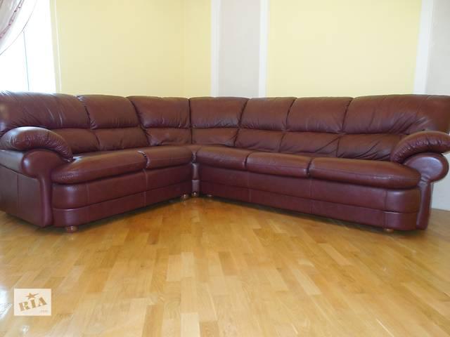 продам кожаный диван бу в Тернополе