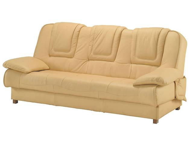 Кожаный комплект 3+1+1 раскладной диван + 2 кресла-качалки, кожаная мебель- объявление о продаже  в Дрогобыче