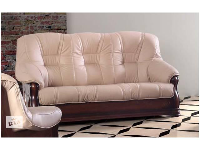 Кожаный комплект Italiano 3+1+1.кожаный диван, кожаная мебель- объявление о продаже  в Дрогобыче
