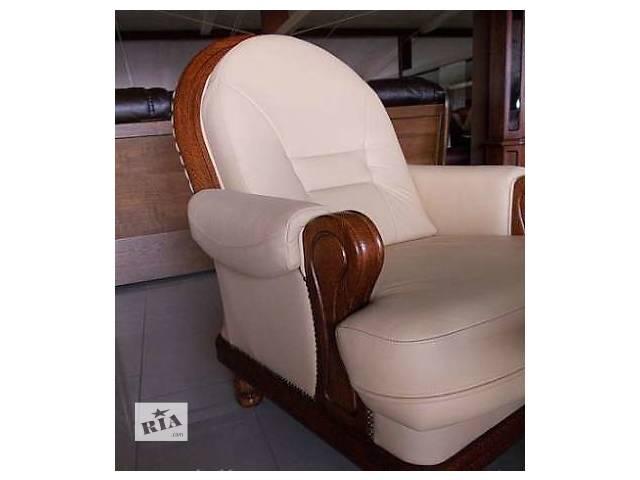 бу Шкіряний мягкий комплект меблів Consul 3+1+1 в Дрогобыче
