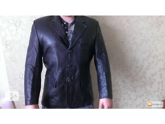 продам Кожаный пиджак-куртка бу в Белой Церкви