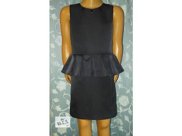 бу Школьное платье отрезное по талии, с баской, на подкладке, модель № 52 в Хмельницком