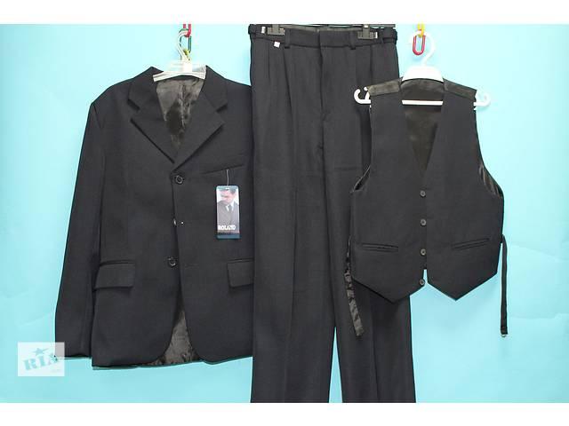 Школьный стильный костюм тройка на мальчика 4, 5, 6, 7, 8, 9, 10, 11, 12, 13, 14, 15 л- объявление о продаже  в Мариуполе