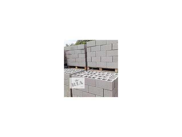 бу Шлакоблок с доставкой по Донецку и области, Шлакоблок блок камень в Донецке