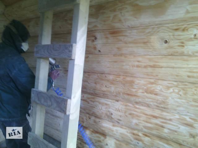 Шлифовка домов,беседок и деревянных построек.- объявление о продаже   в Украине
