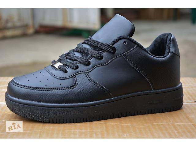 Женские кроссовки Nike Air Force 1 low найк аир форс белые black черные 3e4d0b98a2feb