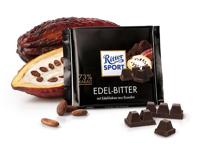 бу Шоколад Ritter Sport - Элитный горький шоколад в Харькове