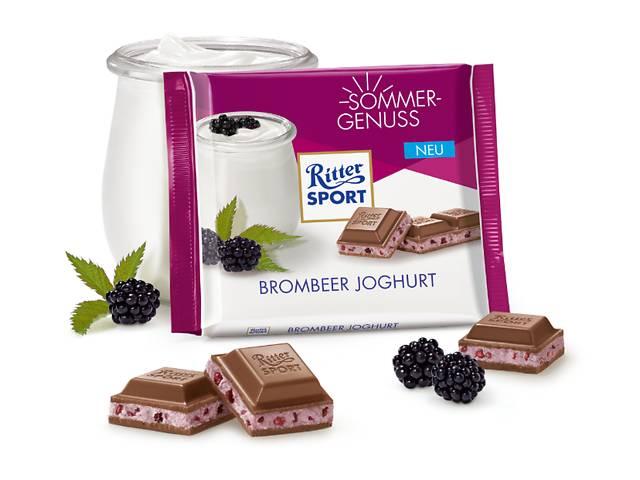 продам Шоколад Ritter Sport - Йогурт с ежевикой  бу в Харькове
