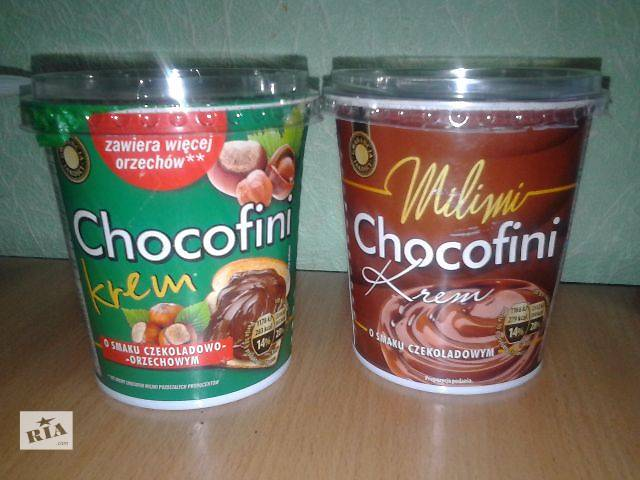 продам Шоколадная паста Chokofini, 400 мл бу в Николаеве