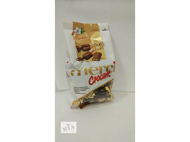 Шоколадні конфети Merci 125г ( 12 упаковок)- объявление о продаже  в Ужгороде