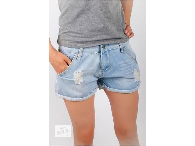 Шорты джинс женские рваные - объявление о продаже  в Запорожье