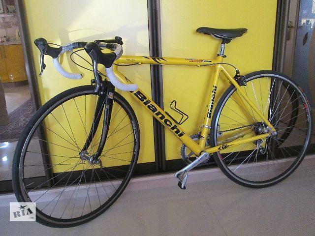 купить бу Шоссейный велосипед Bianchi + вело-аксессуары! в Киеве