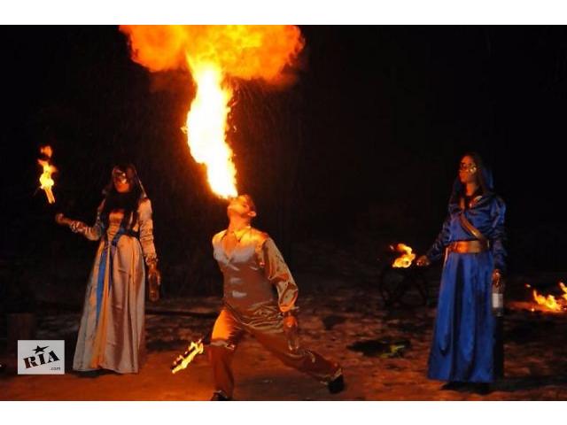 """Шоу-проект """" Дыхание Дракона """" ! Фаер шоу , пиро-шоу , живые статуи !- объявление о продаже  в Черкассах"""