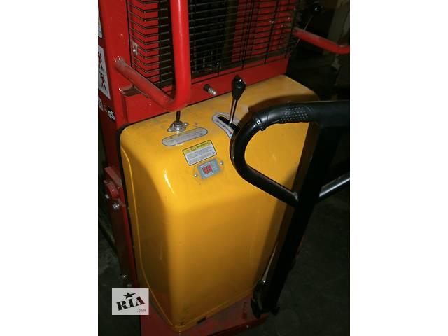 бу Штабелер с электроподъемом SPN1525 с зарядным устройством, б/у, продам в Киеве