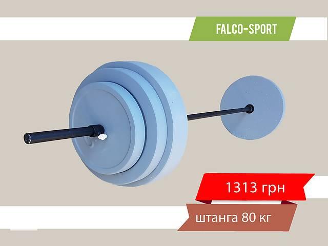 купить бу Штанга 80 кг, гриф 25 мм в Николаеве