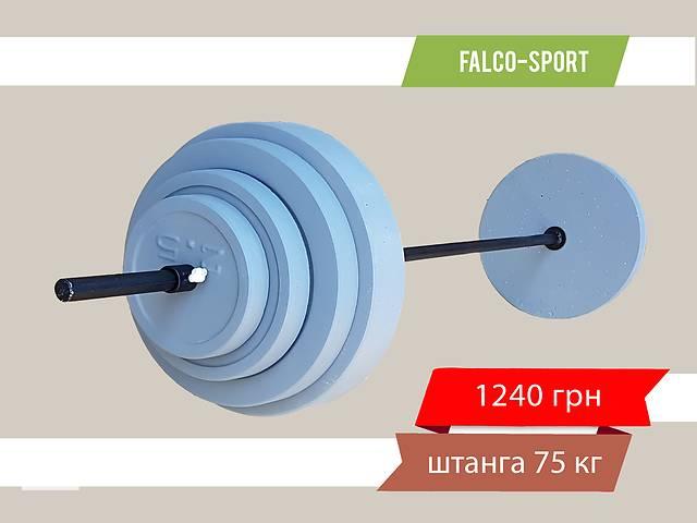 продам Штанга разборная 75 кг, гриф 25 мм бу в Николаеве