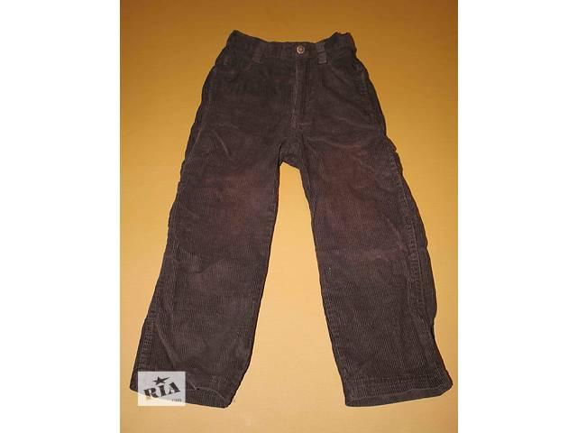 Штаны на мальчика 5-6 лет темно-коричневые- объявление о продаже  в Львове